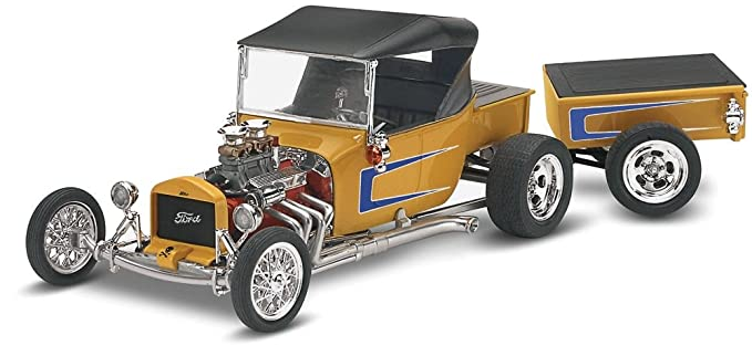 Revell Monogram Ford T Street Rod 1/24 Scale Plastic Model Kit Review