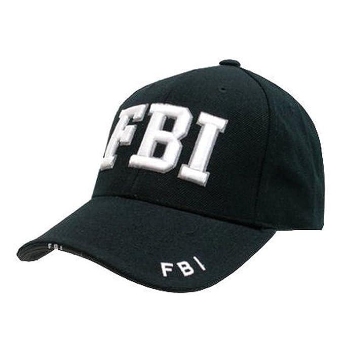 Hombre Militar Combate Negro Swat FBI Seguridad Militar Gorra Béisbol Visera Sol Nuevo - Negro, One Size: Amazon.es: Ropa y accesorios