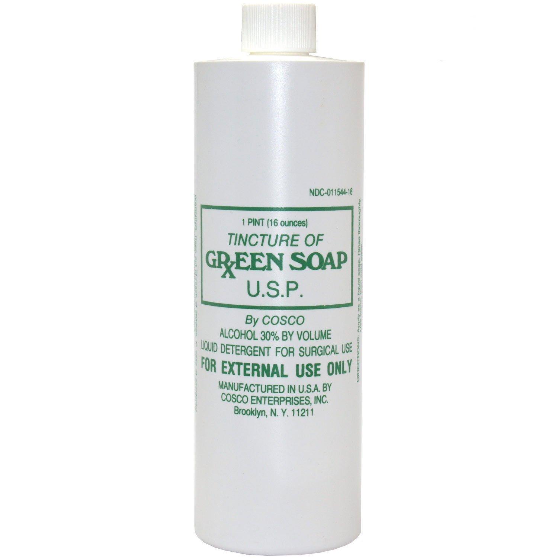 Green Soap Tincture U.S.P., 16 oz.