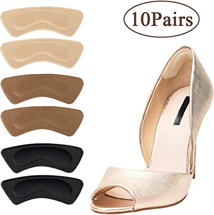 10pair Silicone Shoe High Heel Insole Cushion Pad Gel Grips Foot Heal Protector
