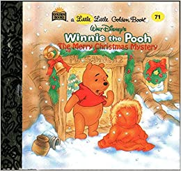 a little little golden book winnie the pooh the merry christmas