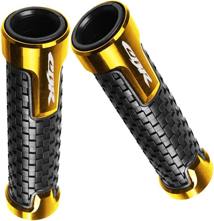 7//822mm Motorcycle Handlebar Ends Aluminum Handle Bar Grips Plugs Caps For Honda CBR 250R 300R 400R CBR 600 F2,F3,F4,F4i CBR 250RR CBR400RR 600RR 900RR 929RR 954RR 1000RR Gold