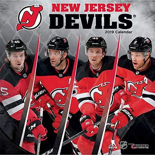 Turner Sport New Jersey Devils 2019 12X12 Team Wall Calendar Office Wall Calendar (19998011947)