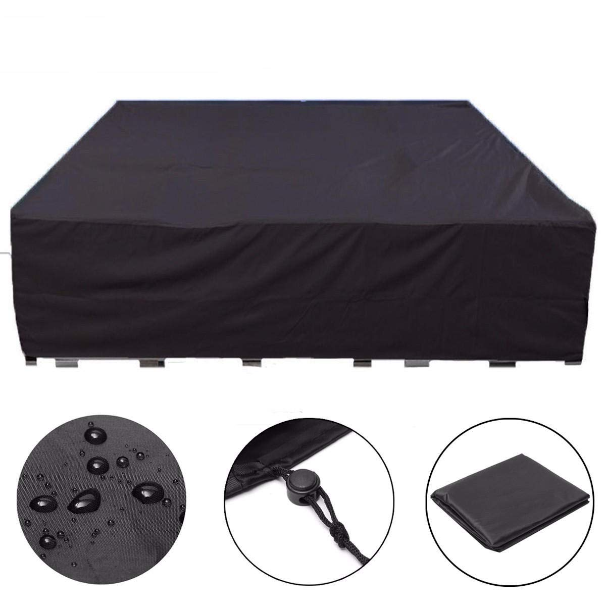 Anddoa Garden Waterproof Furniture Table Chair Bench Cover Protector