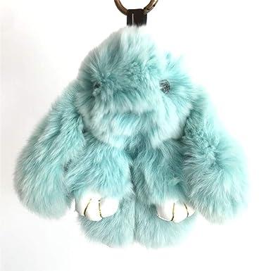 Amazon.com: Cute Conejo llavero Teléfono Celular Accesorios ...