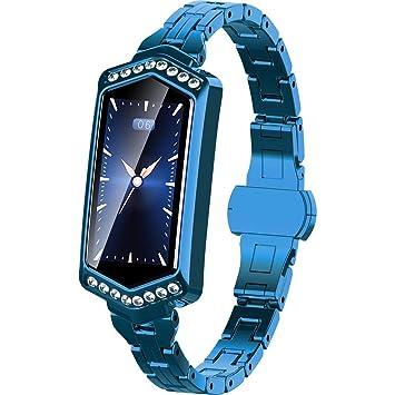 Deng Xuna J1/B78 - Smartwatch para Mujer (iOS y Android, con ...