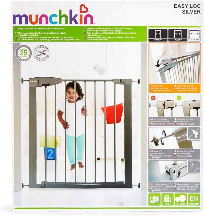 color blanco Barrera de seguridad Munchkin Easy Loc
