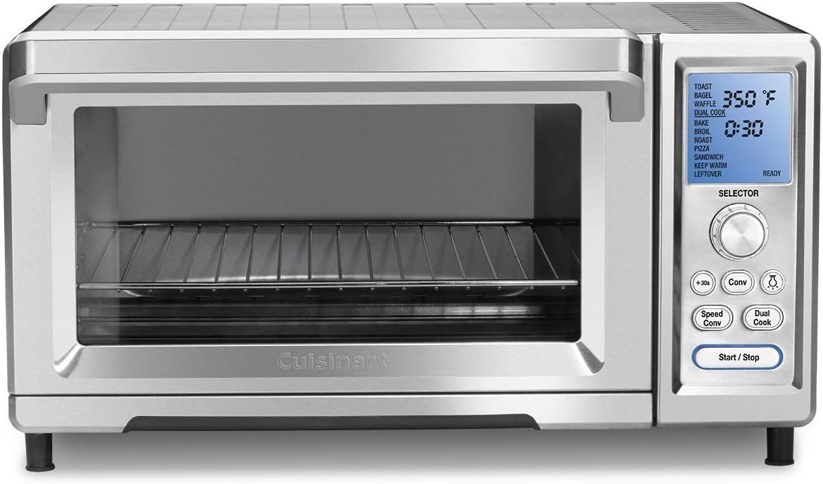 Cuisinart CTO-520PC Toaster Oven, Stainless Steel