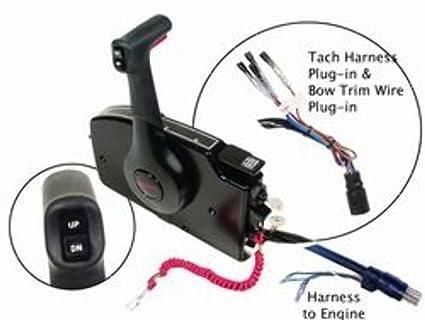 Amazon Remote Control Msc4k Sd Mt 15 Foot Harness Pt By. Remote Control Msc4k Sd Mt 15 Foot Harness Pt By Mercury. Mercury. Mercury Outboard Tach Harness At Scoala.co