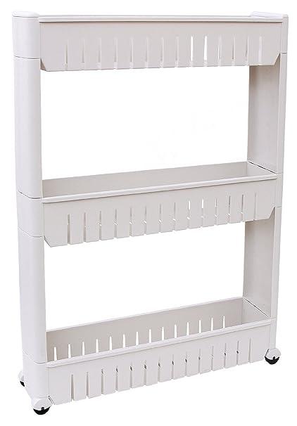 Okayji Plastic Bathroom Storage Rack Shelf 3 Tiers White  sc 1 st  Amazon.in & Okayji Plastic Bathroom Storage Rack Shelf 3 Tiers White: Amazon ...