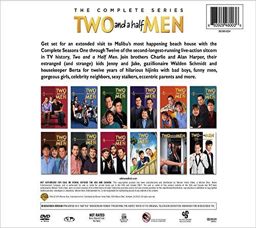 Two and a Half Men: The Complete Series Boxset (DVD)