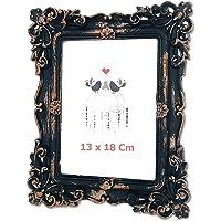Fotoğraf Çerçevesi 13x18 Cm, Masaüstü Siyah Çerçeve 2 Adet