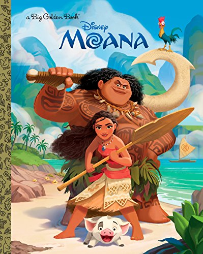 Moana Big Golden Book (Disney