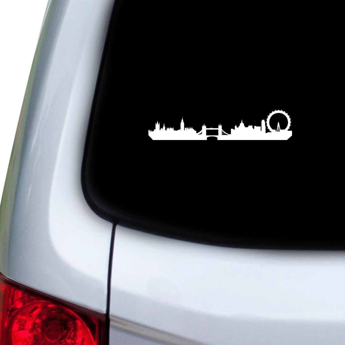 Red Doors Hoods StickAny Car and Auto Decal Series London Skyline 1 Sticker for Windows