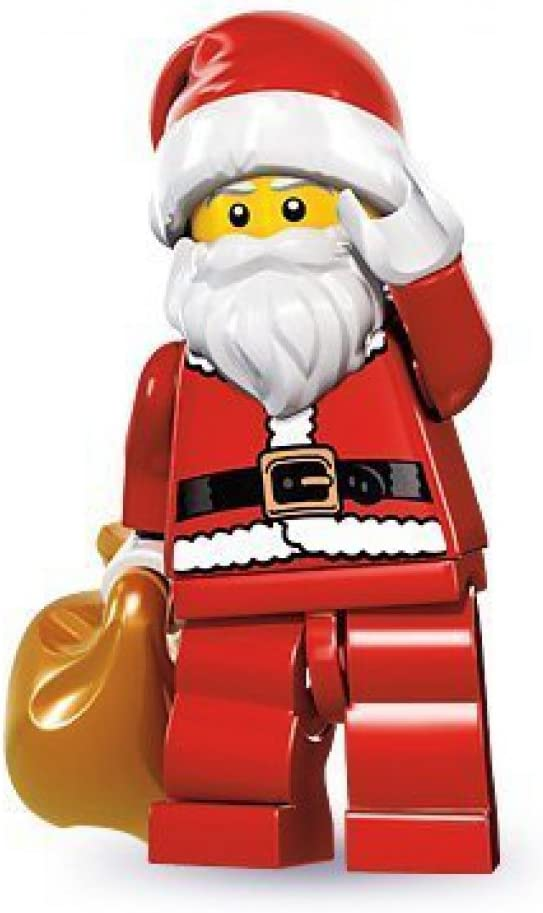 LEGO Series 8 Collectible Minifigure - Santa with Toy Sack