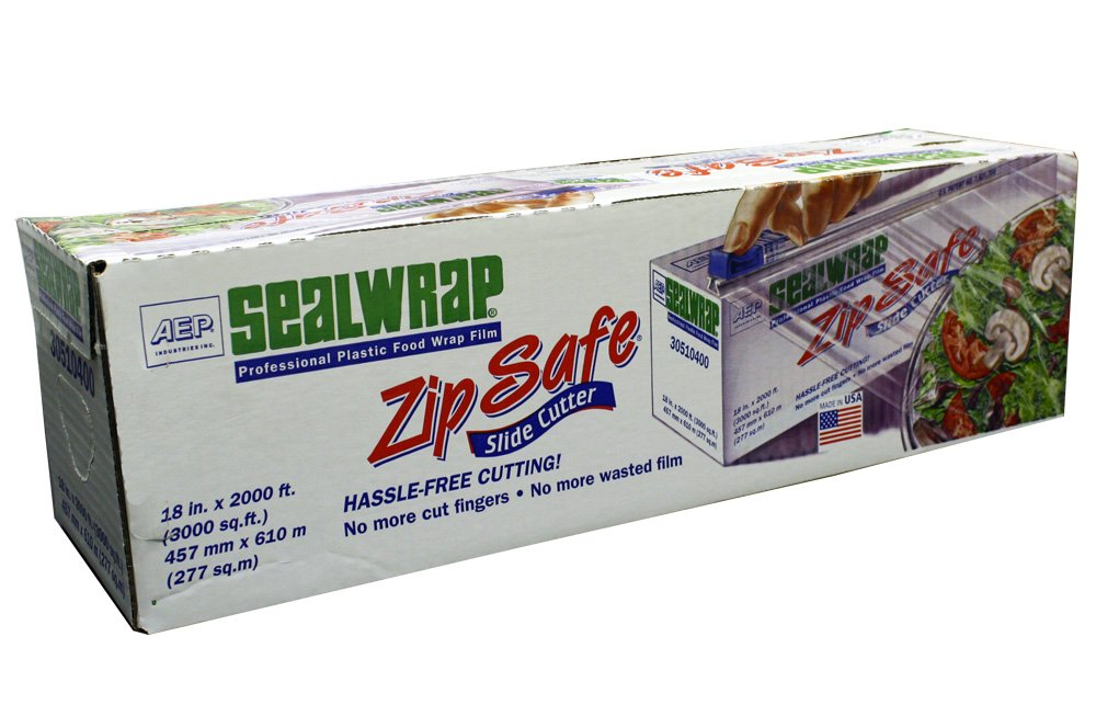 "AEP 30510400 Zipsafe Sealwrap, 18"" x 2000'"