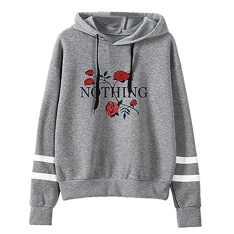 ZJSWCP Sweatshirt New Womens Casual Hoodie Print Long Sleeve Hoodie Women Sweatshirt Harajuku Jumper Pullover Tops