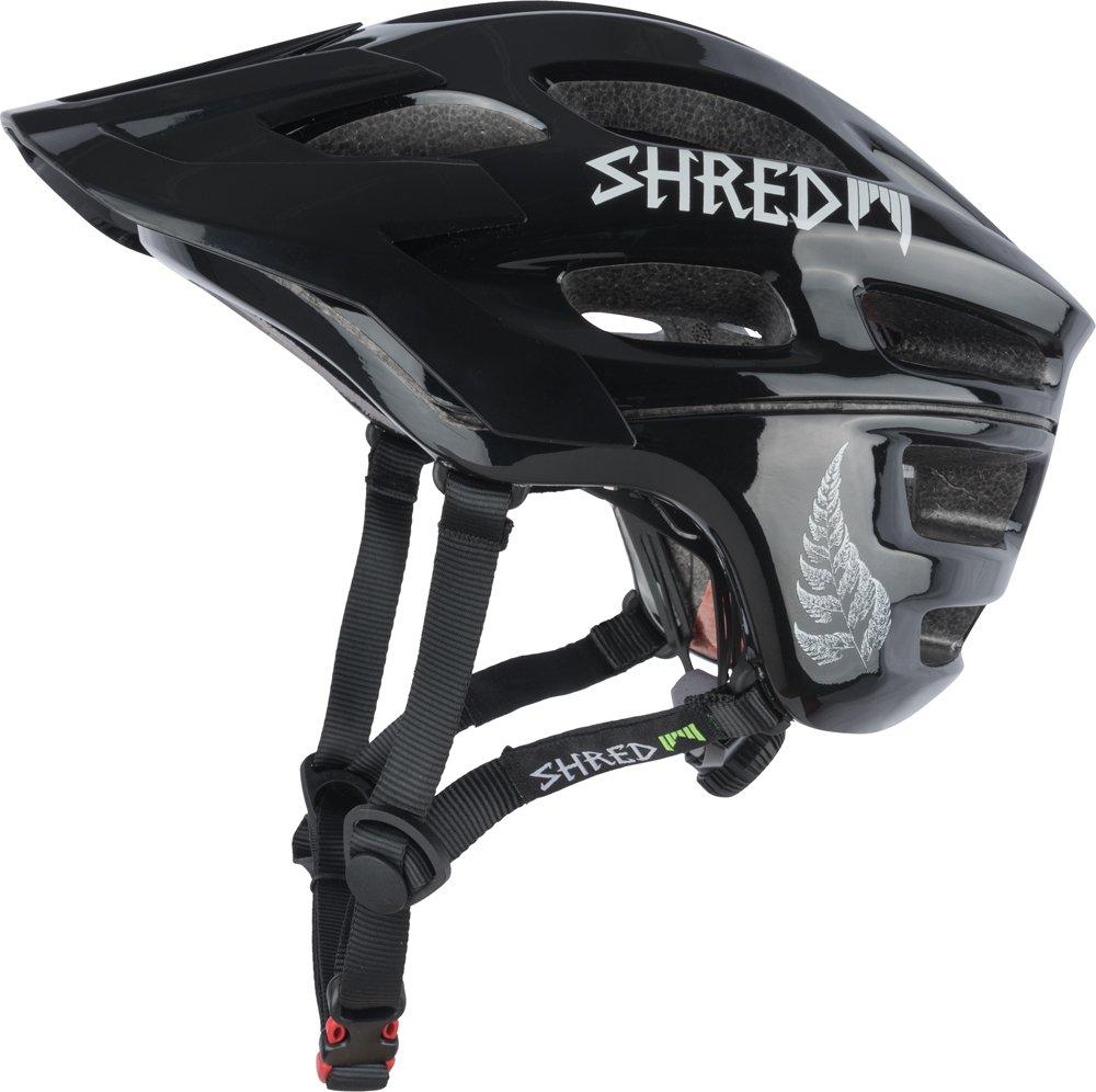 Shred Optics Short Stack Credit Card Helmet, Dark Gray