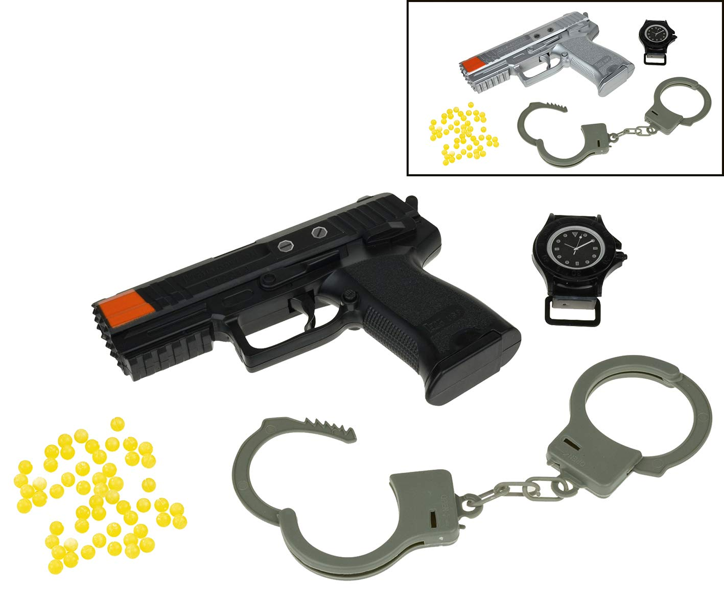 Happy People 80216 Plastique Pistolet avec Bracelets Happy People_80216