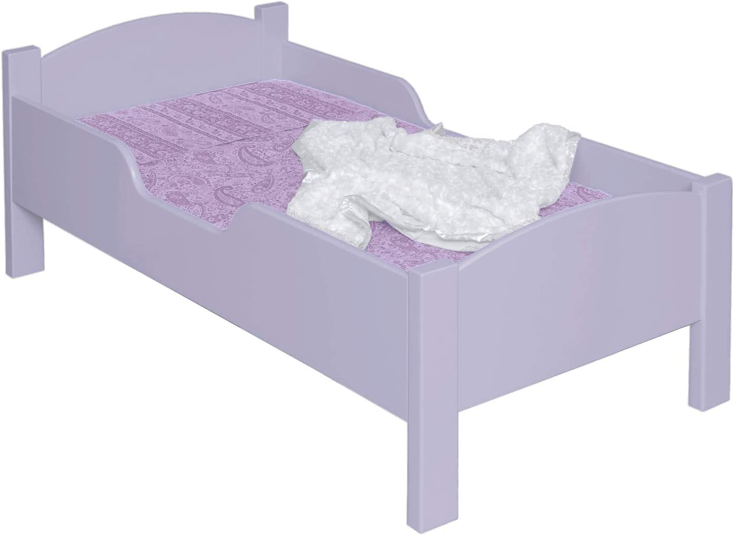Little Colorado Traditional Toddler Bed, Unfinished