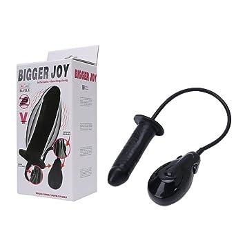 Tiyee - Juguete sexual de estimulador de plug anal de cul de ...