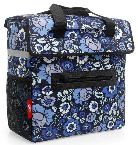 Borsa shopper nuovo LOOXS Merano 21 litri pannier gerla Shoppingtasche