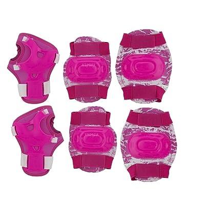 Enfants Protège Kit équipement de protection genou poignet Coude Aegis Spokey