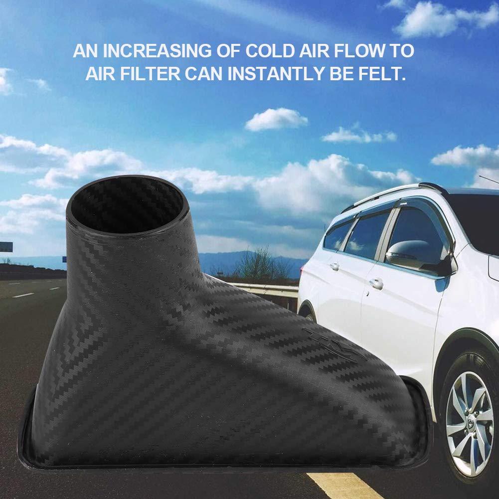 Parachoques delantero del autom/óvil universal Entrada de aire Turbo modificada Paragolpes de admisi/ón de turbina Cuadrado Qii lu Tuber/ía de entrada Turbo de admisi/ón de aire