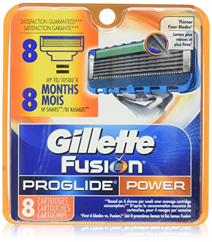 gillette fusion proglide manual cartridges 16 ct
