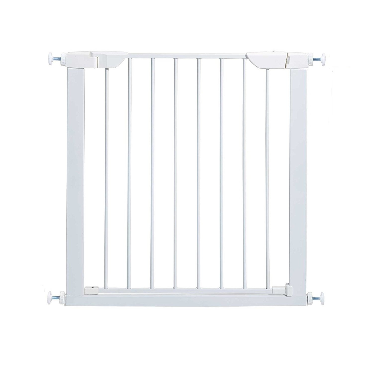 Fairy Baby Infant Multi-Use Metal Expansion Gate,White,Fit Space Between 59.84''-62.60''