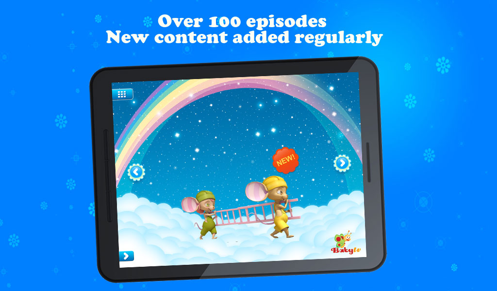 Babytv mobile appstore para android for Regalo mobile tv