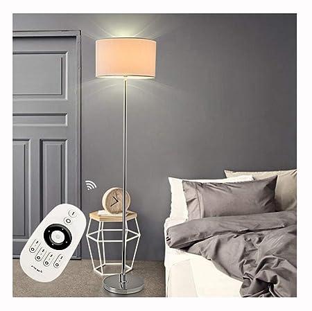 DUOMING 7W Lámpara de pie Salón Dormitorio Estudio Lectura ...