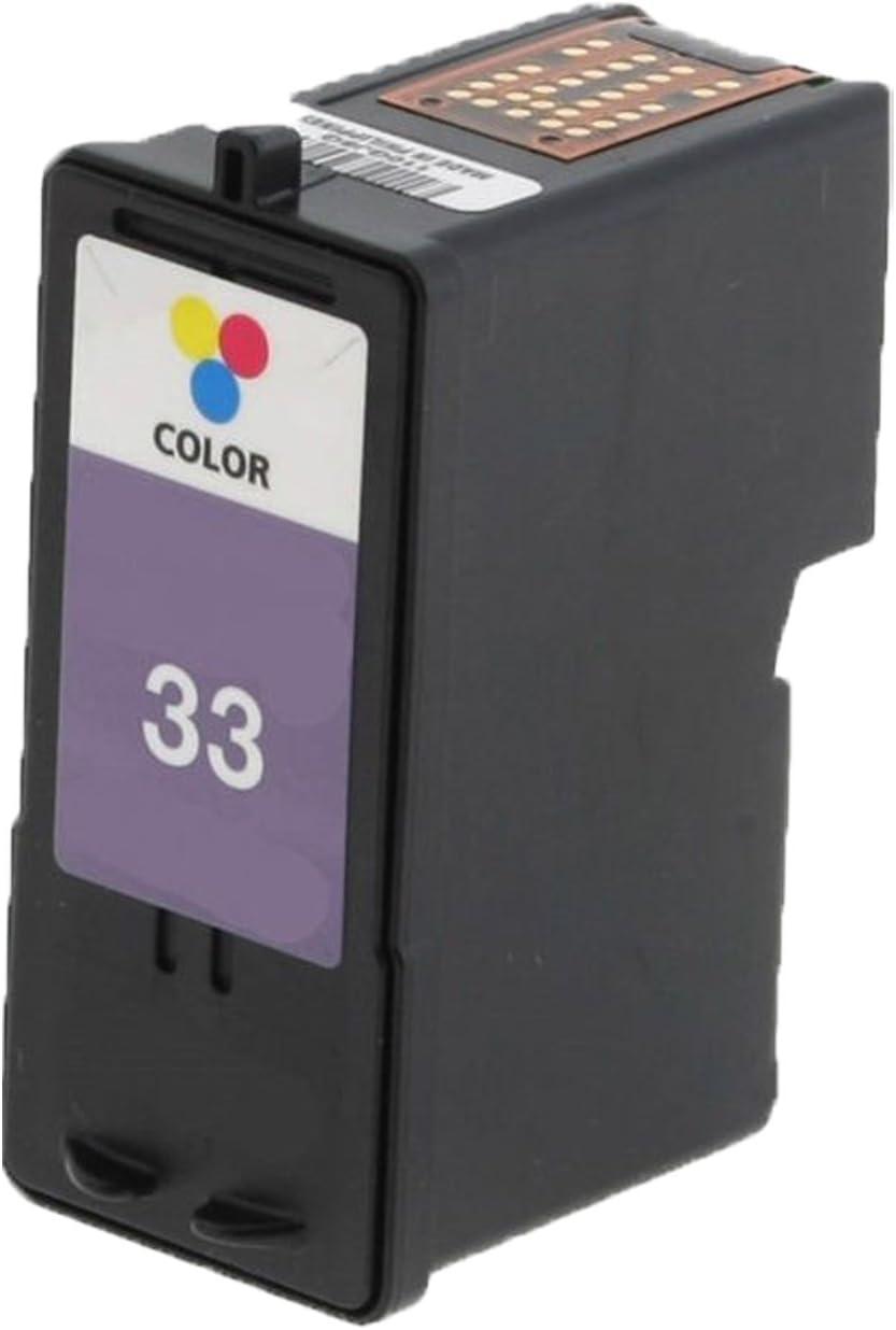 32; Models: Z810 6 Inkjet Cartridges Myriad Compatible Inkjet Cartridges Bulk: R18C0032 Replacement for Lexmark 18C0032 Z812; Black Ink