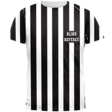 Amazon.com  Old Glory Halloween Football Blind Referee Costume All Over Mens  T Shirt  Clothing 6c2f26137