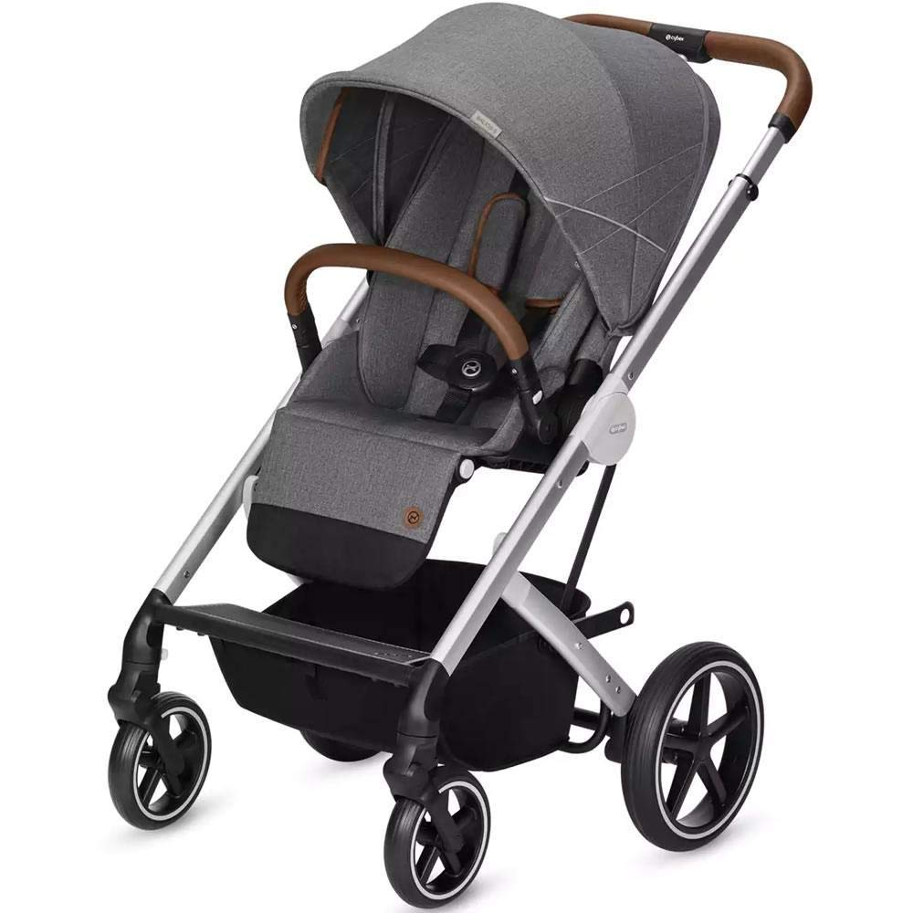 Amazon.com: Cybex Balios S Denim - Cochecito, color gris: Baby