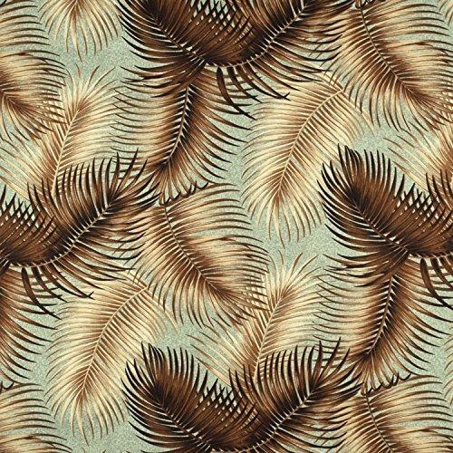 Mana Seafoam Barkcloth - Barkcloth Fabric