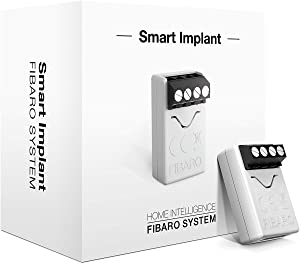 FIBARO Smart Implant Z-Wave Plus Plugin Universal DIY Tool, FGBS-222, doesn't work with HomeKit