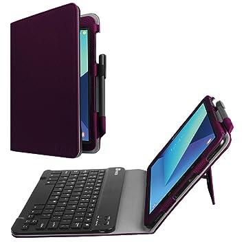 Amazon.com: Fintie, funda con teclado para tablet S3 de 9 ...