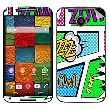 Theskinmantra Zowi Motorola Moto X2 mobile skin available at Amazon for Rs.349