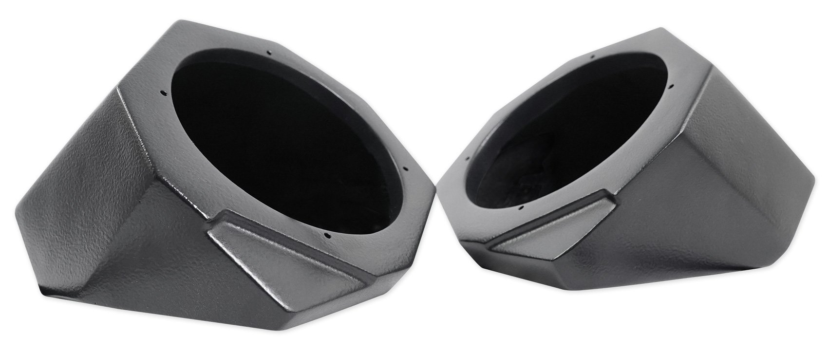 Can-Am Maverick X3 All-Years 6.5'' Speaker Pod Enclosures Front Kick Panels by SSV Works (Image #4)