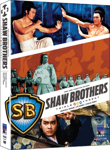 Shaw Brother's Triple Threat (Invincible Shaolin/Life Gamble/Shaolin Prince) by Funimation