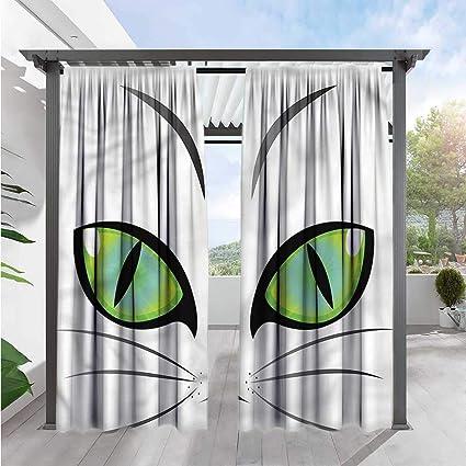 Amazon com : Marilds Eye Exterior/Outside Curtains Siberian