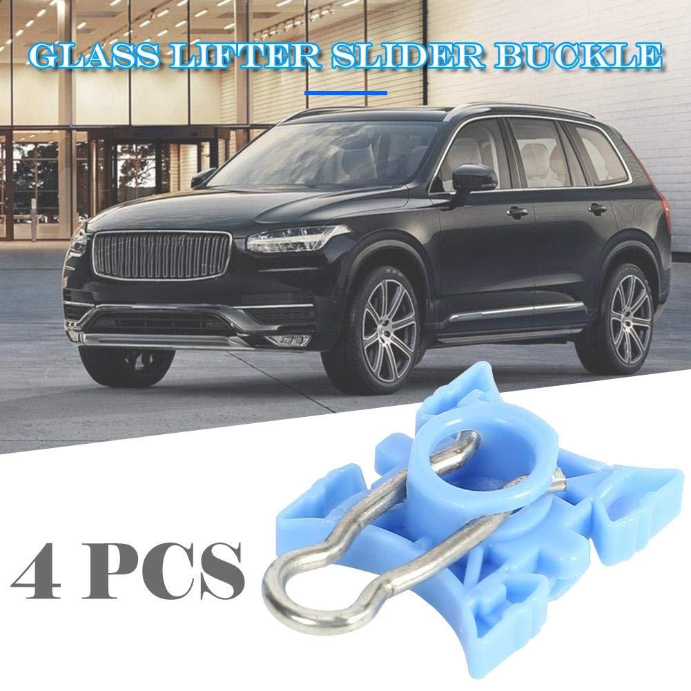4pcs Window Regulator Slider Clips Sliding Blocks for Volvo 740 940 XC70