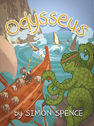 Odysseus: Book 3- Early Myths: Kids Books on Greek Myth (Volume 3)