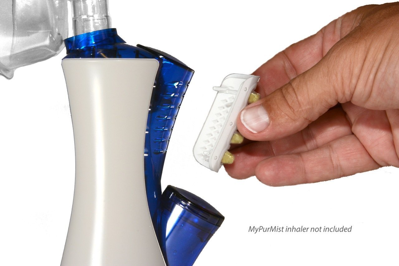 MyPurMist Handheld Steam Inhaler with Free ScentPad by MyPurMist