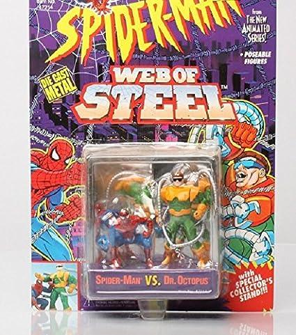 TOY BIZ Spider-man WEB of Steel Dr. Octopus Die Cast Metal ...