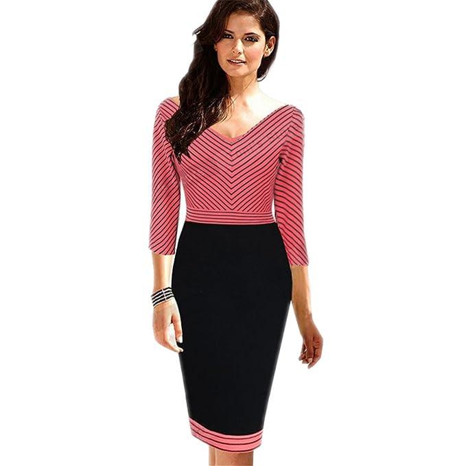 finest selection catch promo codes Business Casual Collo Elegante Donne Abbigliamento Guaina V ...