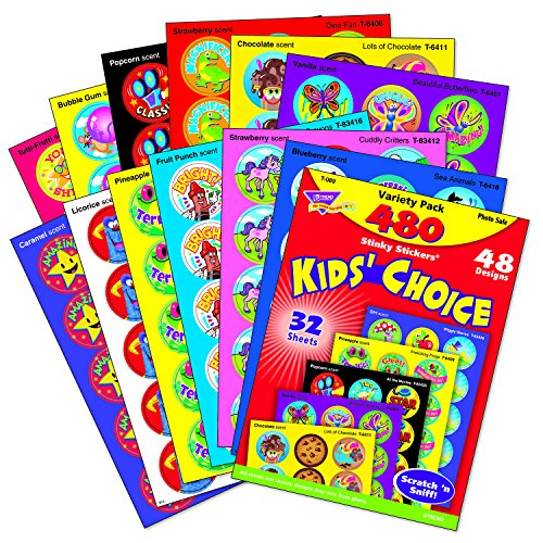 Kids Choice Stinky Stickers Variety