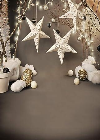 Hintergrund Weihnachten.Lywygg 5x7ft Vinyl Fotografie Hintergrund Weihnachten Hintergrund Sterne Hintergrund Fur Kinder Geburtstagsparty Weihnachten Dekoration Studio