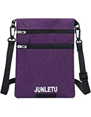 Lightweight Small Crossbody Cell Phone Purse Pouch Multi-Pocket Wallet Mini Shoulder Bag for Women Girls